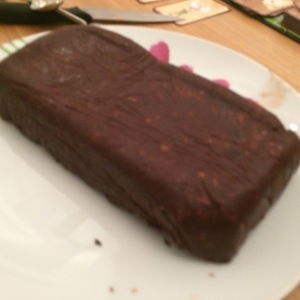 Vegan Chocolate terrine